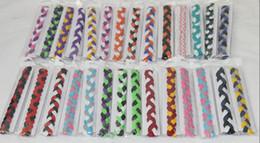 2015 New Fashion DHL shipping wholesale cheap 3-rope braided sports hair headband yoga headband football headband for women&girls