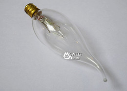 Wholesale Incandescent Lamp Bulb Vintage Edison Bulbs C32 E12 W V antique bulb for pendant ceiling table lamp Edison bombilla