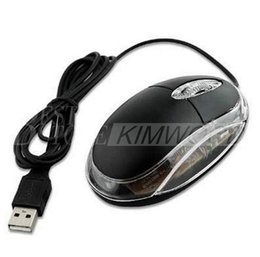 Wholesale 3D Optical Mini Wired USB Gaming Mouse Cheaptest Simple Style With Good Quality For Home OR Office Computer User Match Windows MAC System