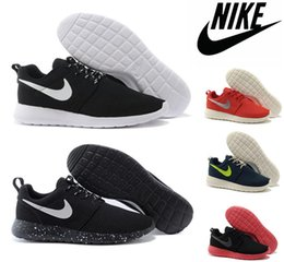 Wholesale Nike Men Women Roshe Run Shoes New Roshe Running London Olympic Walking Sporting Shoes Sneakers Cheap Running Shoes