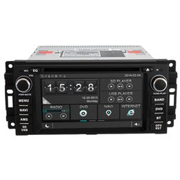 Wholesale Witson Car DVD GPS Player Head Unit Sat Nav for Jeep Grand Cherokee Wrangler Unlimited Commander with Radio Video Stereo Tape Recorder