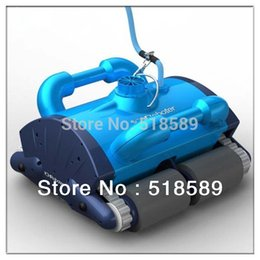 Wholesale 2014 Robot Swimming Pool Cleaner Newest Pool Intelligent Vacuum Cleaner With Remote controller Only To Sweden