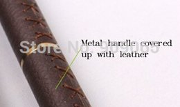 Wholesale Retail Nail Tools Nail Acrylic Brush Pure Kolinsky Professional Leather Handle Painting Brush Nail
