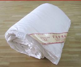 Al por mayor-Pure edredón de seda de seda de relleno Manta 1kg 200X230cm para el verano es un uso personalizado OK desde edredones de seda pura fabricantes