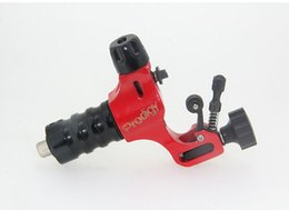 Wholesale Newest Style red Prodigy Tattoo Machine Tattoo Gun Aircraft Alu Stigma Prodigy Motor