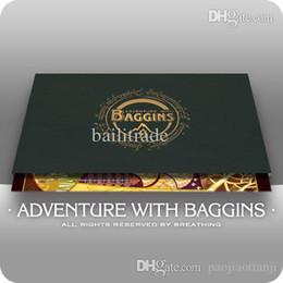 Wholesale MOKA quot Adventure with Baggins quot set cm cm Hobbits Glass Painting Original Postcards Lord of Rings