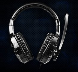 wholesale JIZZ GH901 headset with microphone earphones fashion laptop gaming belt Game Headphones High-Definition microphones, free shipping