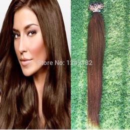 Cheap Natural keratin Capsule prebonded U Nail Tip Virgin Hair Extension 10-30 inch Remy Fusion Human Hair Extension Keratine 1g