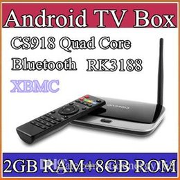 Wholesale 20PCS xbmc installed Bluetooth HDD EKB311 MK888B CS918 quad core gg android tv box Android GB GB RK3188 nm Cortex A9 mini pc TV