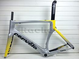 Wholesale 2016 New hot full carbon road bike frame cervelo s5 carbono Bicycle frameset BBright size cm