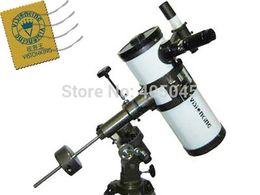 Télescope étoiles en Ligne-Visionking 1000 114 mm monture équatoriale Space Telescope astronomique gros High Power Voir Étoile planète Lune Saturne Jupiter