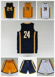 2017 point de navire # 24 maillot de basket-ball Shorts Rev30 point de broderie Logos Jerseys Livraison rapide gratuite Taille S - XXL Laisser Ordre Mix budget point de navire