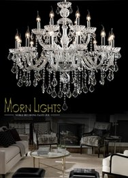 Large crystal chandelier 18 Arms Luxury crystal light chandelier Fashion chandelier crystal light Modern Large chandelier light