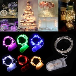 Wholesale Christmas Lights CR2032 Cell Battery Operated m LED LED String Light Waterproof Led Fairy Lights For Party Wedding