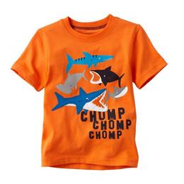 Shark 2015 Boys T-Shirts Short Sleeve Children's Tee Shirts 100% Cotton Jumping Beans Kids Jerseys Hot Sale 18m-6year