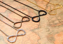 Wholesale UK One direction Infinity Necklaces Paper Airplane Pattern Fashion Jewelry Pendant Necklace