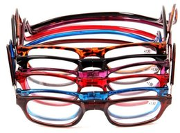 Newest Unisex Presbyopia Glasses men women Folded Hanging Magnetic Reading Glasses Strength Eyewear 1.0 -4.0