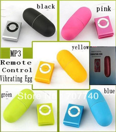 MP3 Remote Wireless Vibrating Egg 20 Modes women Remote Control Bullet Vibrator, Sex Vibrator, Adult Sex Toys (1lot=1set=2pcs)
