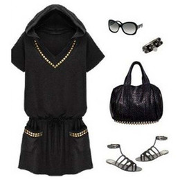 Wholesale-women dress plus size S-4XL, large size summer dress, high quality women casual dress, V-neck european style cotton dress,L0152