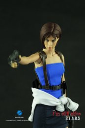 Wholesale VIKING Scale Resident Evil Extinction Jill Valentine Policewoman Cloth Suit Accessories For Action Figure Model Toy