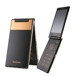 Wholesale Original Lenovo A588T Filp Smart Phone Inch MTK6582M Quad Core Android4 Single Front MP Camera G GSM Unlocked Phones