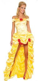 Adult Snow White cosplay Princess Costumes Fairy Tale Costume Dress Gown Halloween Costumes Or Women Ennanna AMN2804