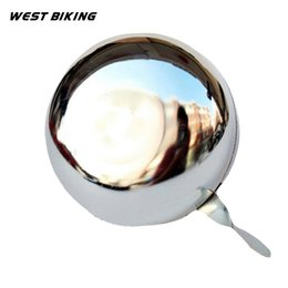 Wholesale CM Large Bike Bell ring alarm High Quality Bicycle Product Metal Ring Handlebar Bell Sound Alarm Bike Cycling Bicycle Bell