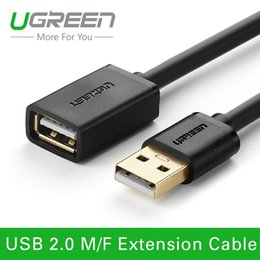 Wholesale Ugreen USB Extension Cable Black Male to Female USB Adapter Extender Mobile Phone Cable for PC Keyboard Printer Camera