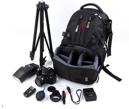2016 hot sell camera video backpack for photography high quality waterproof photo backpack bag for men women travel outdoor backpack