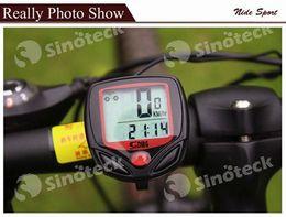Wholesale Bicycle Computer Odometer Speedometer Display Bike Digital Waterproof Velometer Bicycle LCD Multifunctional Free DHL Facotry Direct