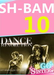 on Hot Sale New Routine Course SH 10 BAM Aerobics Fitness Exercise Dance SH10 BAM10 Video DVD + Music CD Free Shipping