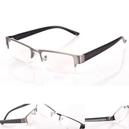 Wholesale Dynamic Fashion Unisex Reading Glasses Aspherical Resin Lenses Half Frame Glasses