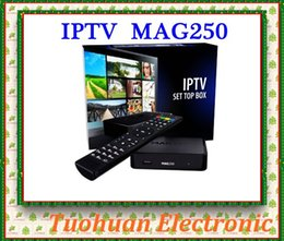 Wholesale New Linux System MAG250 MAG Stability Confirmed by IPTV providers in Countries Iptv Box