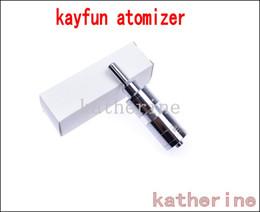 Kayfun 3.1 atomizer Kayfun Lite 3.1 cartomizer for ego Electronic Cigarette Kits e cigarette Kits the Russia DIY Atomizer High Quality