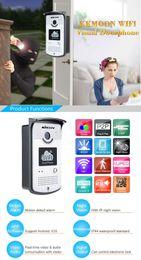 Wholesale KKMOON WIFI Video MP Network Home Doorphone Wireless Visual Phone Control Outdoor Indoor Door Bell