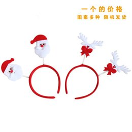 Christmas decorations Christmas headband head buckle Christmas Child Christmas decoration dress cute hair bands