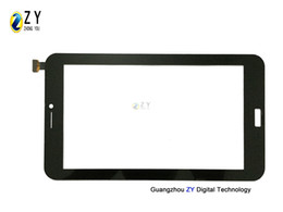 "7"" Black Tablet Pc Capacitive Touch Screen Digitizer Replacement F0679-A Glass Touch Panel"