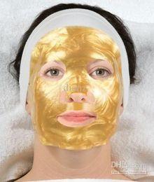 Wholesale Popular hot Collagen Gel Face Mask contains Hylauronic Acid K Gold d Silk