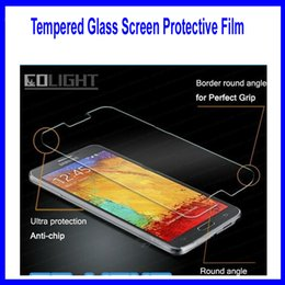 Wholesale Hot sale mm Mobile phone tempered glass screen protective film for samsung galaxy S3 i9300 s4 s5 s6 agent