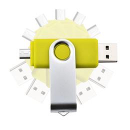 Wholesale Top A Quality Swivel OTG USB GB GB USB USB Flash Drive USB Sticks With Retail Package Memory Pen Pendrives