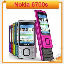 Wholesale Original s NOKIA Mobile Phone Camera MP Bluetooth Java Unlocked slider refurbished mobile Phone