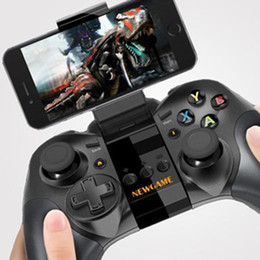 Wholesale-Free Shipping New Game N1 Wireless Bluetooth Gaming Controller Gamepad Joystick for Android   iOS Smart Phone Smartphone