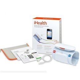 Wholesale iHealth BP5 Home Care Wireless Blood Pressure Monitors Bluetooth Automatic Arm Cuff Digital Sphygmomanometer Compatible iPod iTouch iPhone