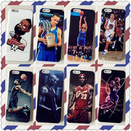 Wholesale 2016 high quality ultrathin call phone case for iphone s puls mobile phone manufacturers selling shell athletic star Mobile phone shell