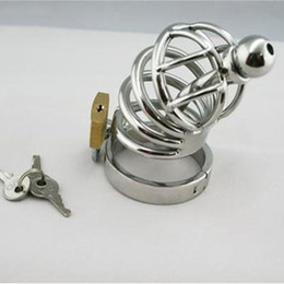 2015 Male Bondage IMPALER Brand New 100% Stainless Steel Chastity Device cage bondage fetish penis chastity bdsm toys Fast shipping