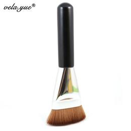 Wholesale Premium Flat Contour Brush Big Face Blend Makeup Brush