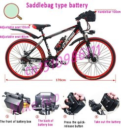 Wholesale no foldable KM per charge battery powered electric bicycle V A electric bicycle Mountain electric bicycle DHL free shipp
