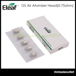 Wholesale Eleaf GS Air Atomizer Head Pure Cotton Head ohm Replacement Coil Fit GS Air Atomizer