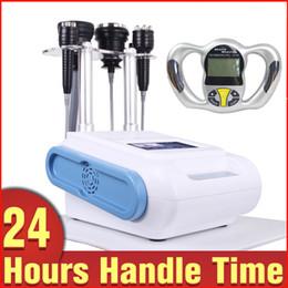 Bio RF Skin Lifting Ultrasonic Cavitation Slimming Lymph Drainage Body Massage Machines with Fat Analyzer Monitor