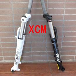 Promotion les épaules plus fortes Suntour XCM VTT fourches fourches verrouillage de contrôle 26 pouces vélo avant fourches nouvelle mode plus fortes fourches vélo B7